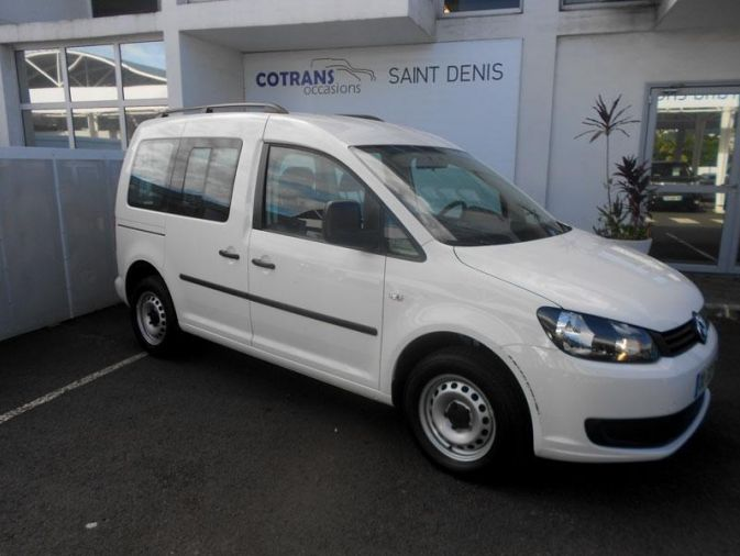 VOLKSWAGEN - CADDY-1.6 tdi 75ch bluemotion technology trendline-2