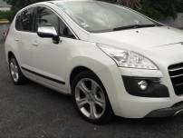 PEUGEOT 3008 hybrid4  2.0 e-hdi fap style ii etg6 + electric 37ch   d'occasion