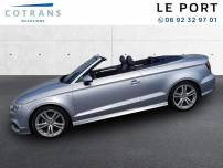 AUDI A3 Cabriolet  1.4 TFSI 125ch Ambition S tronic 7   d'occasion
