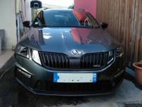 SKODA OCTAVIA  RS BREAK TDI 184CV DSG   d'occasion
