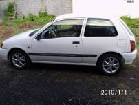 TOYOTA STARLET   d'occasion