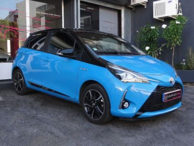 TOYOTA YARIS  HYBRIDE RC18 100Ch Cyan Unique   d'occasion