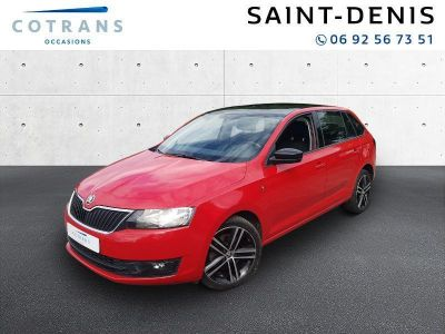 SKODA rapid spaceback  1.6 TDI 90ch CR FAP Tour de France DSG   d'occasion